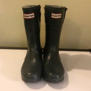 Authentic Hunter Boots rain boots sz 7 Euro 38